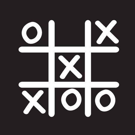 x sport: x o icon Illustration