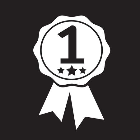 primer lugar: el primer lugar del icono Vectores