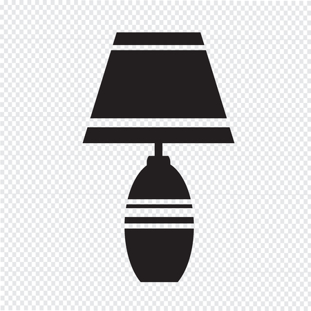 lampshade: household lamp icon