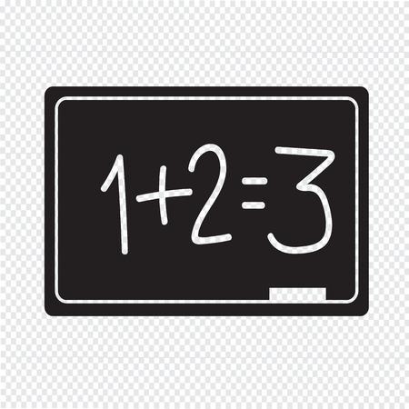 blackboard icon: Blackboard Icon Illustration