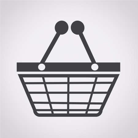 e store: Shopping icon Illustration
