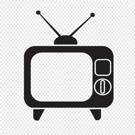 show case: Retro tv icon