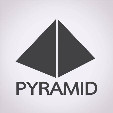 freemasons: Pyramid design icon