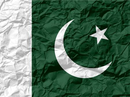 Pakistan: Flag of Pakistan