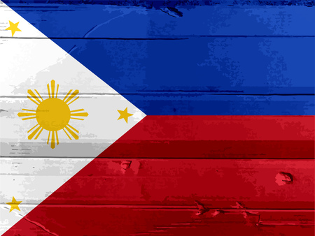 uniting: Flag of the Philippines