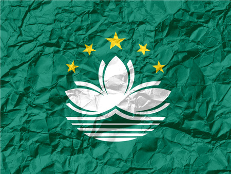 macau: Flag of Macau , China