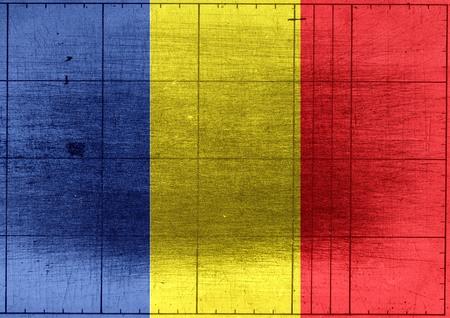 chad: Chad flag themes idea design Stock Photo