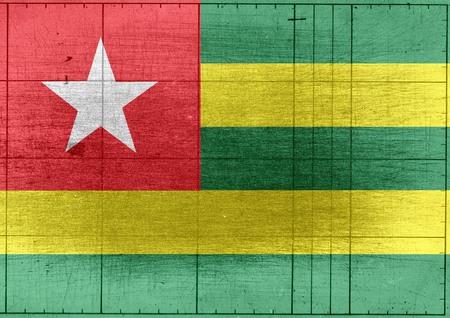 togo: Togo flag themes idea design Stock Photo
