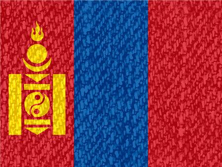 mongolia: Flag of Mongolia