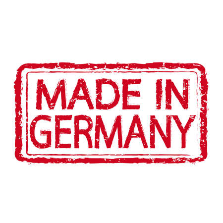 made in germany: Made In GERMANY Stamp Text Illustration