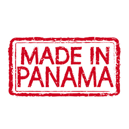 certificated: Made In PANAMA Stamp Text Illustration Illustration