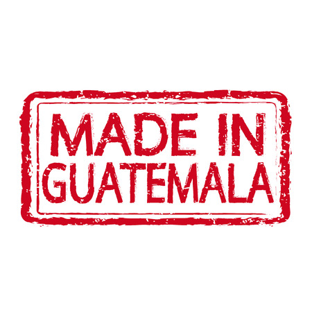 certificated: Made in GUATEMALA stamp text Illustration Illustration