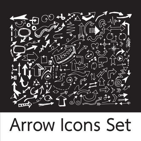 arrow icons: Hand Drawn Arrow Icons