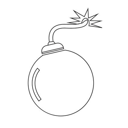 detonation: Bomb Icon