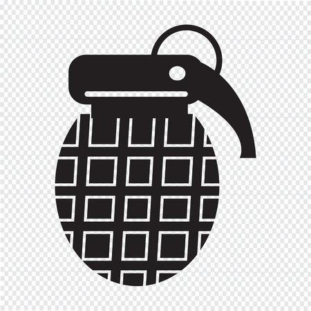 atomic bomb: Bomb Icon