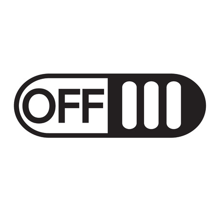switch off: On Off switch button icon