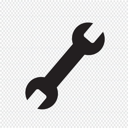wrench tool icon Иллюстрация