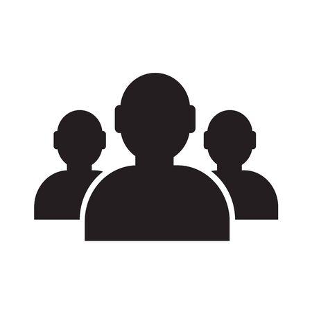 User icon , human business person design Ilustração