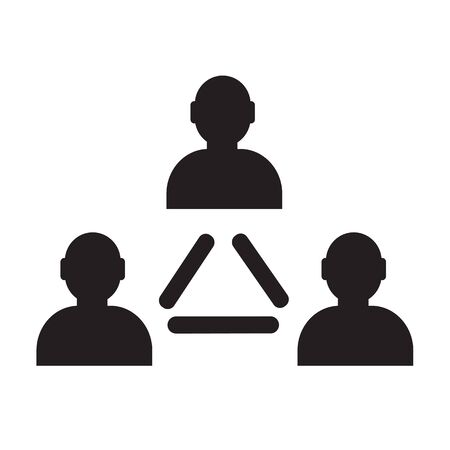 human resource: User icon , human resource and business person design Illustration
