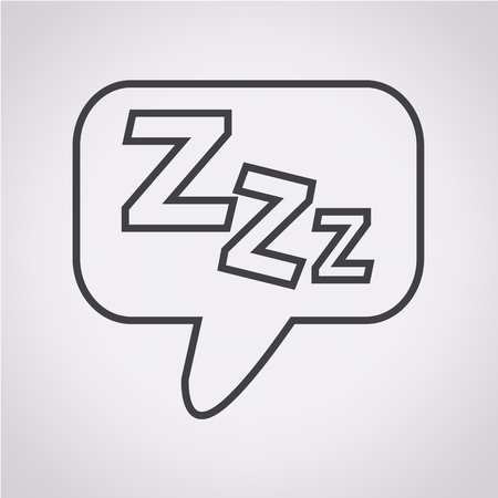sleeper: Sleep Icon Illustration