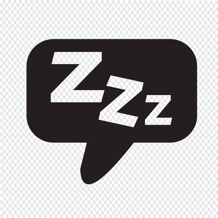 zzz: Sleep Icon Illustration