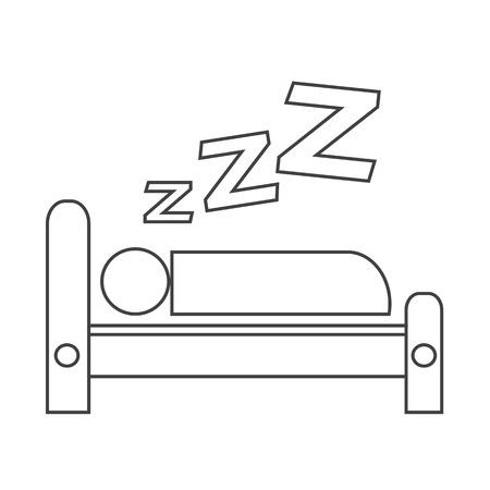 kingsize: Sleeping icon design