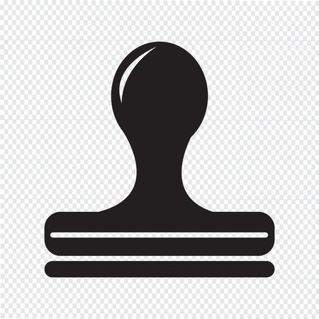 Stempel-pictogram
