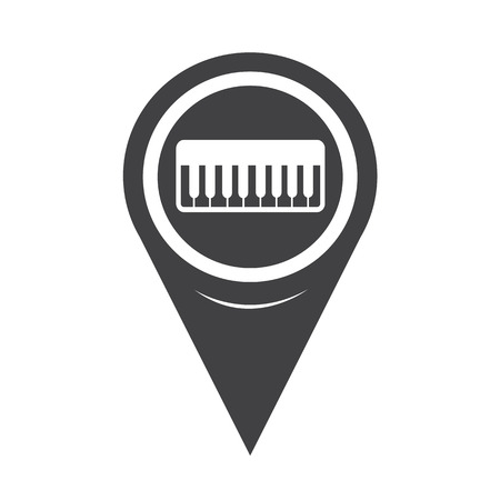 violin player: Map Pointer music Icon