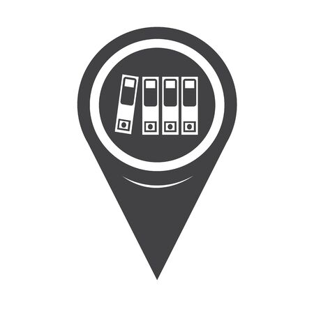 noticeable: Map Pointer Folder Icon