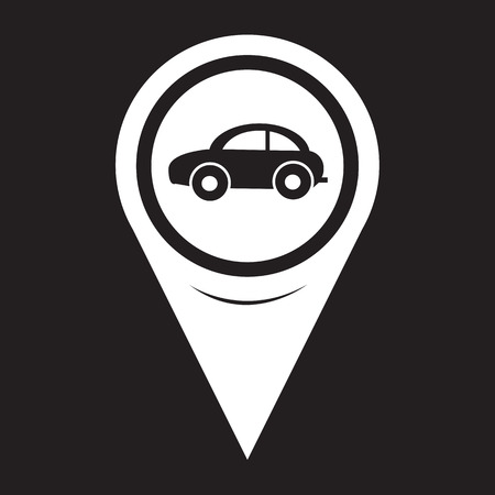 excursions: Map Pointer Car Icon