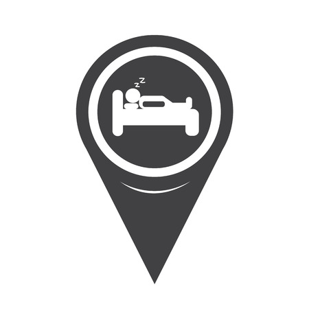 sleeper: Map Pointer sleep Hotel icon