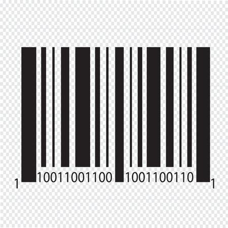 Streepjescode pictogram