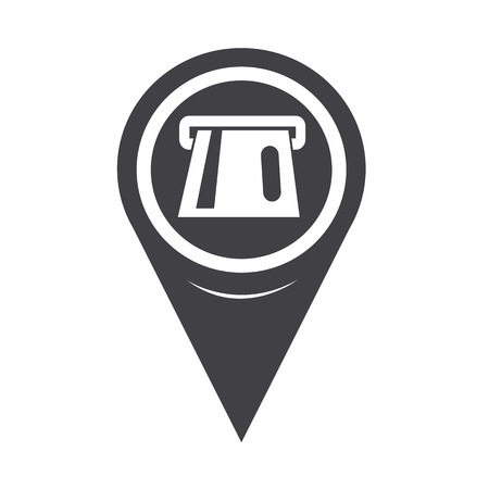 cashpoint: Map Pointer ATM Icon