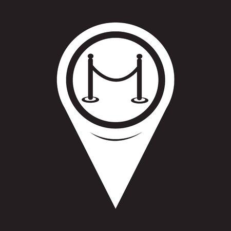 barricade: Map Pointer barricade icon