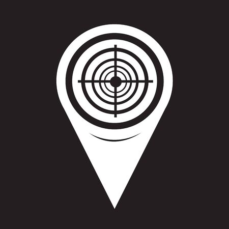 ziel icon: Map Pointer Ziel Icon