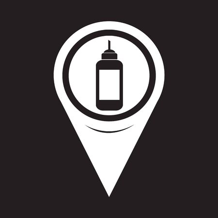 conditioned: Map Pointer Ketchup Icon