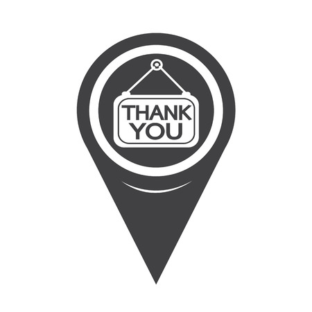 politeness: Map Pointer Thank You Icon