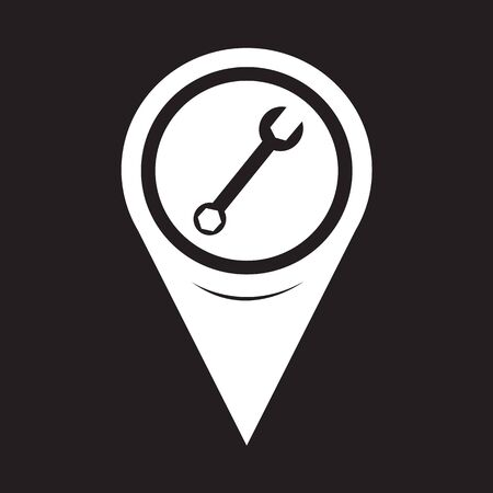 hardware configuration: Map Pointer Wrench Icon