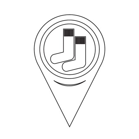 sock: Map Pointer Sock Icon