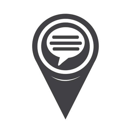 comment: Map Pointer Comment Icon