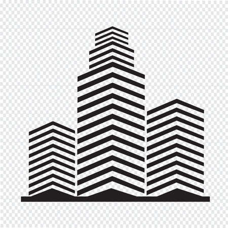 Office building icon Stock Vector - 42610334