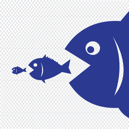 merger: big fish eat little fish
