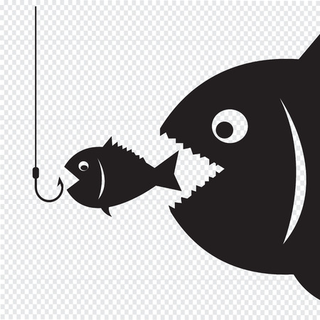 huge: Big fish eat little fish