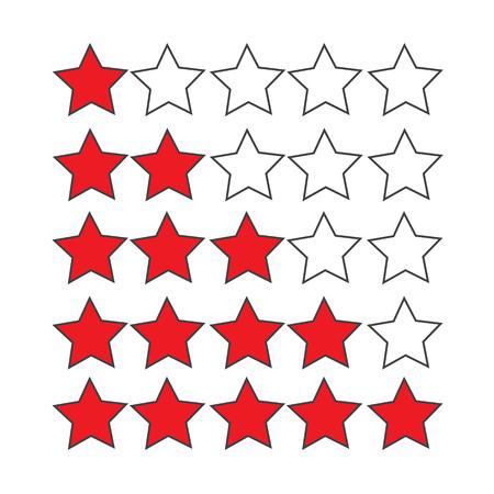 rating: Rating stars icon
