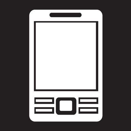 mobil: Mobile Phone Icon