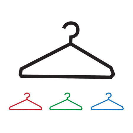 storage compartment: Clothes Hanger Icon