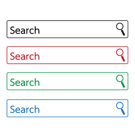 icons site search: search bar icon