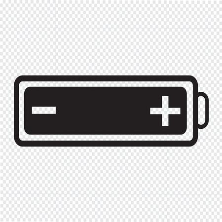 accuser: batterie web icon