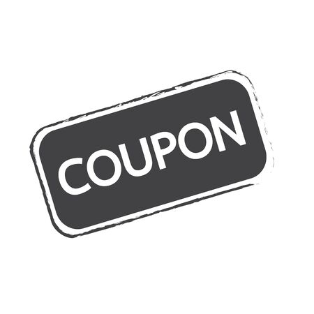 ciach: Discount Coupon Icon Ilustracja