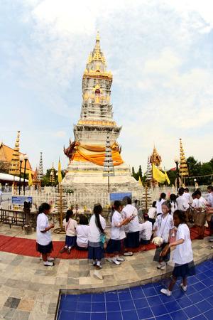 places of worship: Wat Mahathat Yasothon Thailand Places of worship
